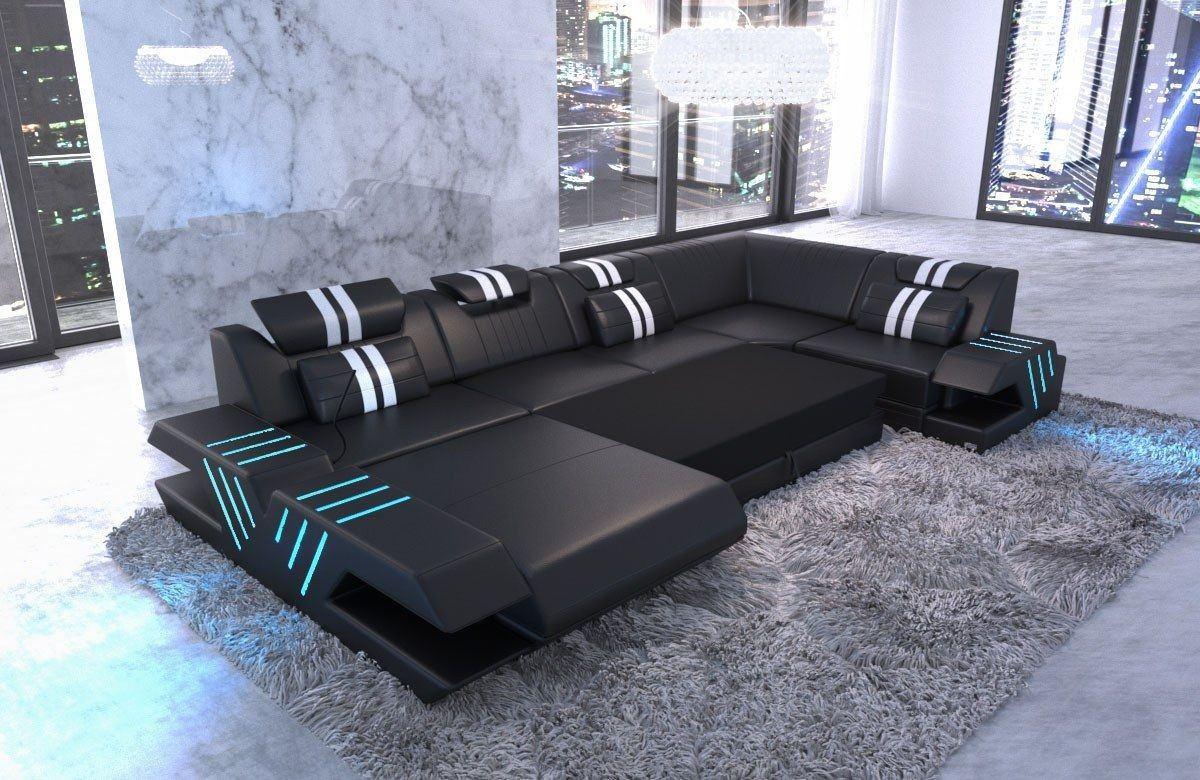 Stoff wohnlandschaft venedig sofas und couches - Pulire divano pelle macchiato ...