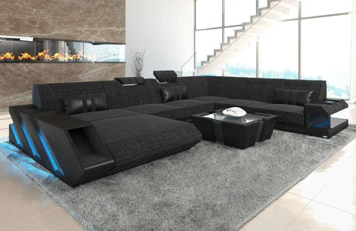 xxl wohnlandschaft apollonia. Black Bedroom Furniture Sets. Home Design Ideas