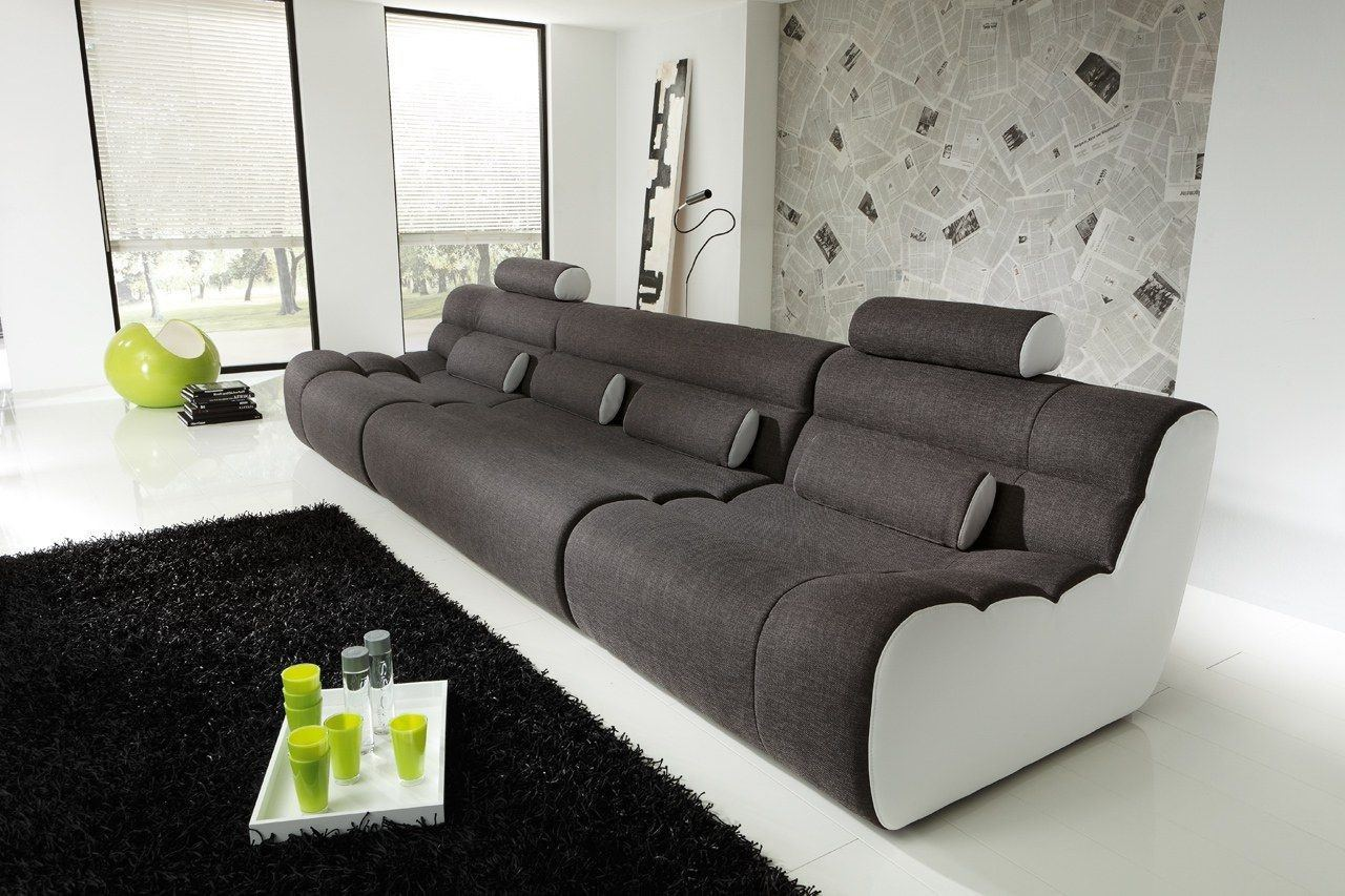 Sofa elements three 4 sitzer couch als modernes systemsofa for Sofa 4 sitzer stoff