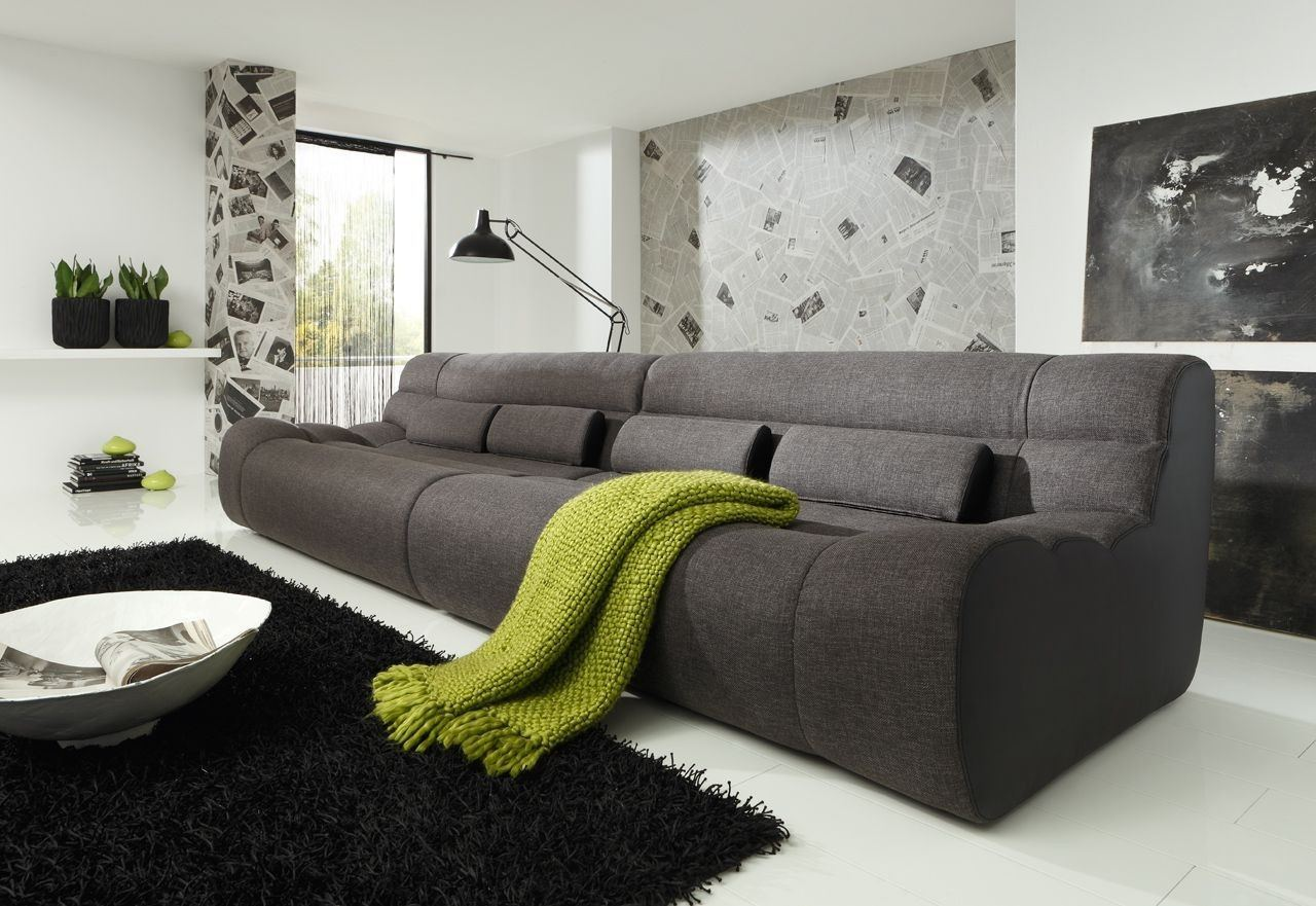 Sofa Elements Three - 4 Sitzer Couch als modernes Systemsofa