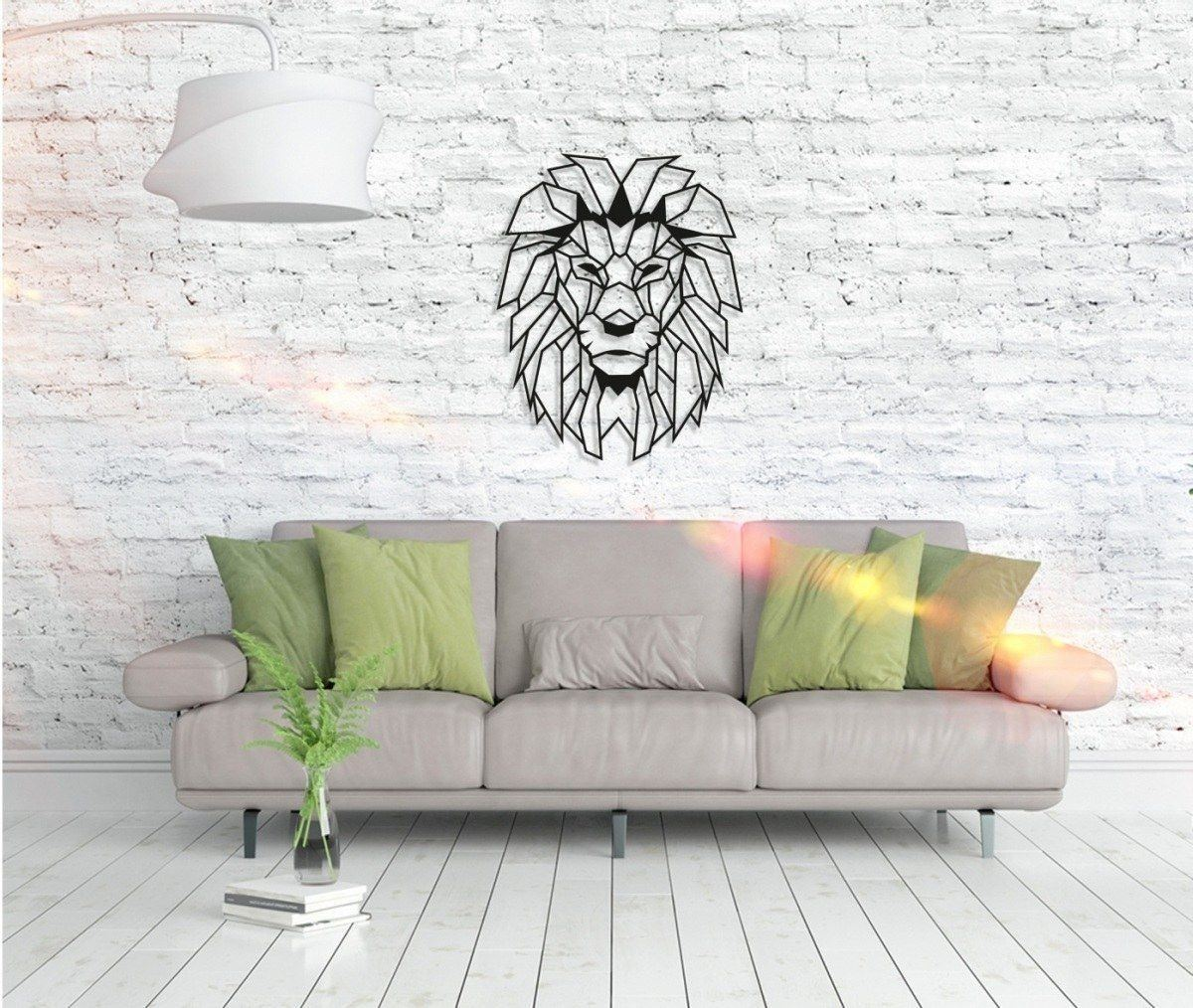 Metall wandbild lion head metall wandbilder wandbilder wohnzimmerm bel - Metall wandbilder ...