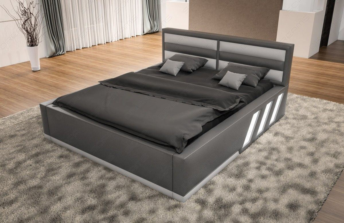 wasserbett apollonia komplett set mit beleuchtung. Black Bedroom Furniture Sets. Home Design Ideas