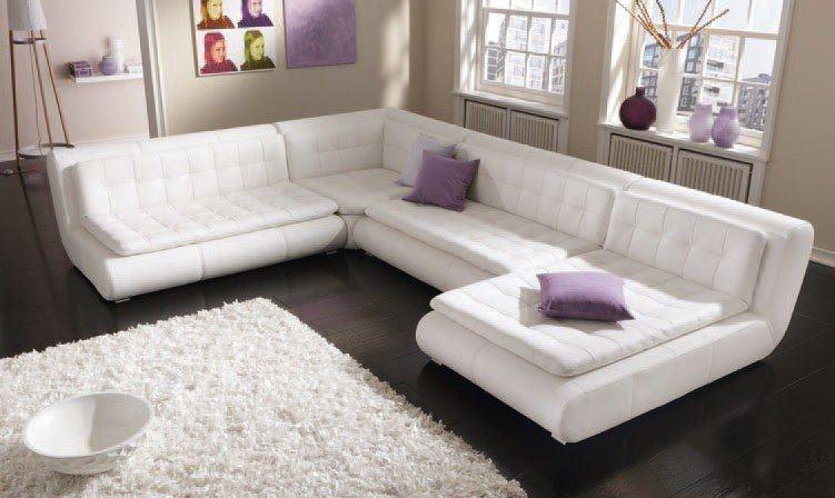 Echtleder Sofa Exit Ten Als Moderne U Form Sofa Gunstig Kaufen