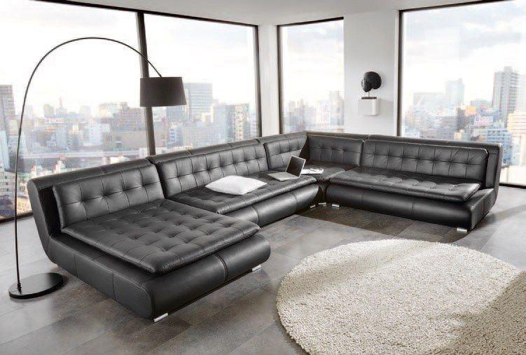 Echtleder Sofa Exit Ten Als Moderne U Form Sofa Günstig Kaufen