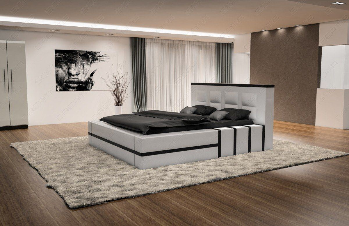 sofas ledersofa luxus boxspringbett asti mit beleuchtung betten g nstig online kaufen. Black Bedroom Furniture Sets. Home Design Ideas