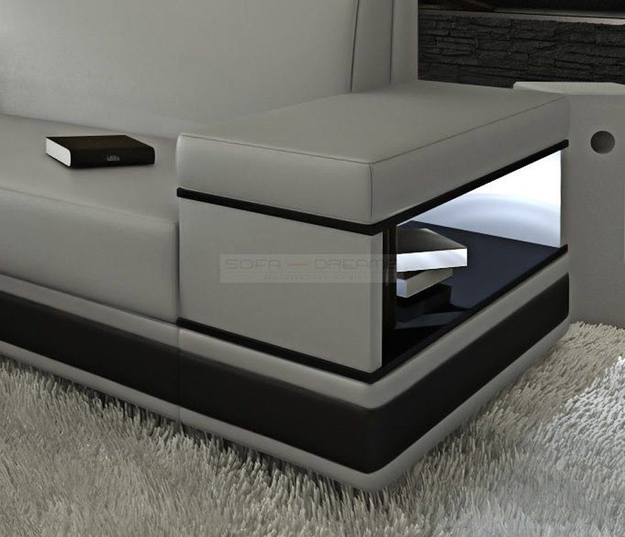 sofas ledersofa ledersofa messana l form sofas g nstig online kaufen. Black Bedroom Furniture Sets. Home Design Ideas
