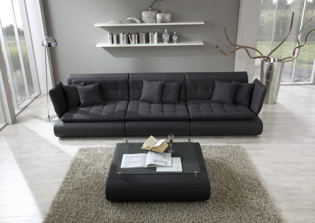 sofas ledersofa funktionssofa exit three sofas g nstig online kaufen. Black Bedroom Furniture Sets. Home Design Ideas