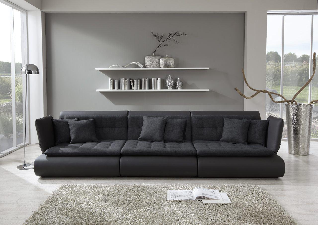 sofas ledersofa funktionssofa exit three sofas. Black Bedroom Furniture Sets. Home Design Ideas