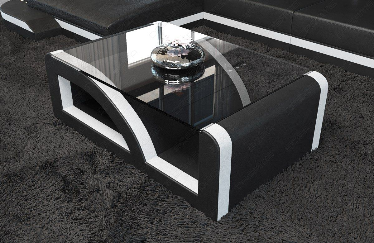 sofas ledersofa leder couchtisch palermo couchtische. Black Bedroom Furniture Sets. Home Design Ideas