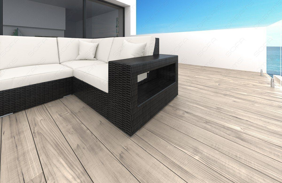 sofas ledersofa rattan sofa lounge set messana rattan g nstig online kaufen. Black Bedroom Furniture Sets. Home Design Ideas