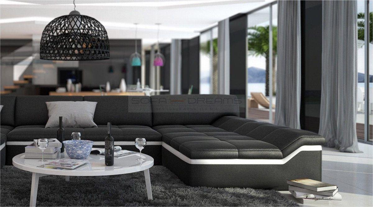 sofas ledersofa wohnlandschaft barari sofas g nstig. Black Bedroom Furniture Sets. Home Design Ideas