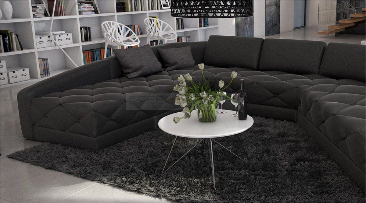 big sofa u form das beste aus wohndesign und m bel. Black Bedroom Furniture Sets. Home Design Ideas
