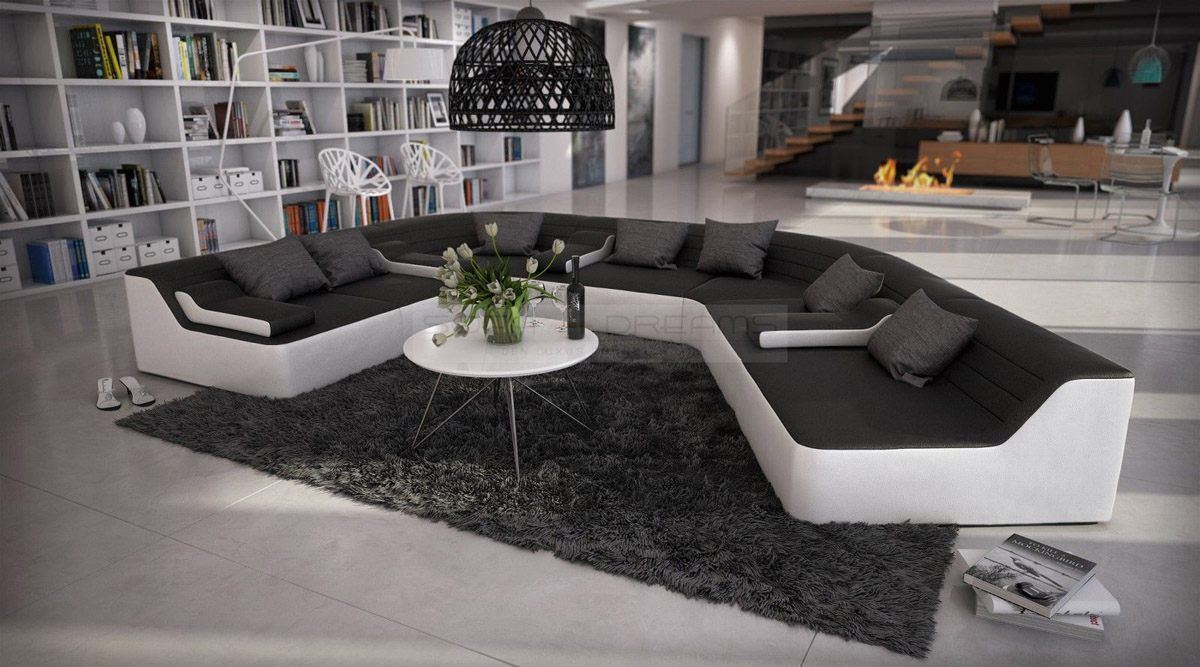 sofas ledersofa wohnlandschaft toccata 3 kissen sofas g nstig online kaufen. Black Bedroom Furniture Sets. Home Design Ideas