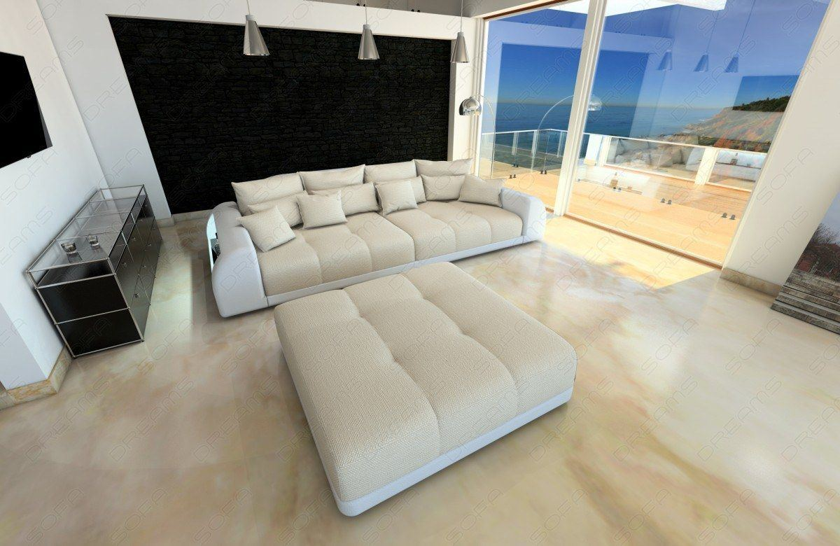 sofas ledersofa big sofa miami mit beleuchtung sofas. Black Bedroom Furniture Sets. Home Design Ideas